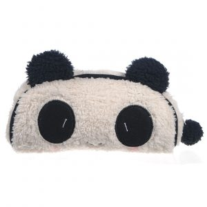 Panda Soft Plush Pencil Case Pen Pocket Cosmetic Makeup Bag