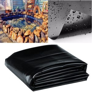 8-32ft Sizes Fish Pond Liner Gardens Pools PVC Membrane Reinforced Landscaping Cover