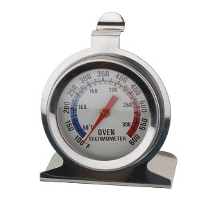 Stainless Steel Oven Thermometer Large Dial Temperature Gauge Kitchen Cooking Tool