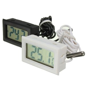 Fish Tank Fridge Incubator Digital Probe Embedded Thermometer