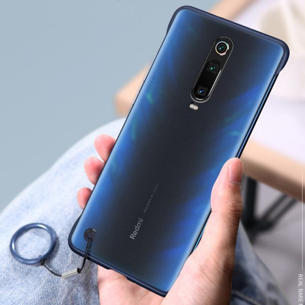 Bakeey Transparent Ultra Thin Anti Fall Matte Hard PC&Soft Edge With Finger Ring Protective Case For Xiaomi Redmi K20 / Redmi K20 PRO