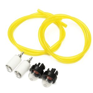 1.8Ft Tygon Fuel Lines Filter Snap In Primer Bulb For Craftsman Poulan Chain Saw