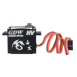 GDW IPX893 HV 35KG Metal Gear 160 Coreless Waterproof Digital Servo For 1:8 1:10 RC Car