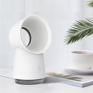 Xiaomi Happy Life 3 in 1 Mini Cooling Fan Bladeless Desktop Fan Mist Humidifier w/ LED Light
