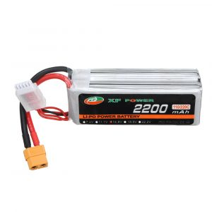 XF POWER 14.8V 2200mAh 110C/220C 4S Lipo Battery XT60 Plug for RC Racing Drone
