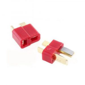 50 Pair Fireproof T Plug Connector For RC ESC Battery