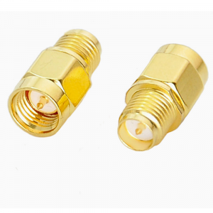 2PCS SMA Male To RP-SMA Female RF Coaxial Adapter Connector