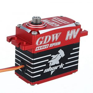 GDW BLS896 IPX896 Shark 38KG 160 Metal Gear Brushless Waterproof Digital Servo For RC Models