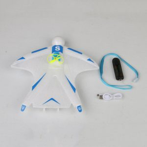 Skywalker Crazy Flyer 263mm Wingspan Electric Capacitor Hand Throwing Free-flying 2.4GHz EPP RC Airplane RTF