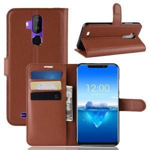 Bakeey Flip Magnetic With Wallet Card Slot Protective Case for Oukitel C12 Pro