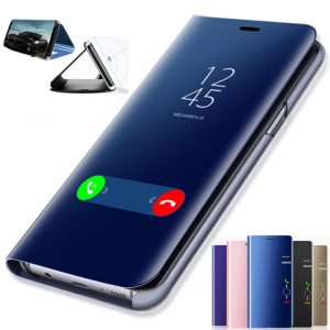 Bakeey Plating Mirror Window Shockproof Flip Full Cover Protective Case for Xiaomi Mi Note 3
