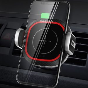 Bakeey 15W Qi Wireless Charger QC 3.0 Quick Charging Car Charger Infrared Sensor Air Vent Dashboard Car Phone Holder For 4.0-6.5 Inch Smart Phone