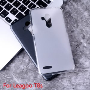 Bakeey Frosted Anti-scratch Soft TPU Back Pudding Protective Case for Leagoo T8S