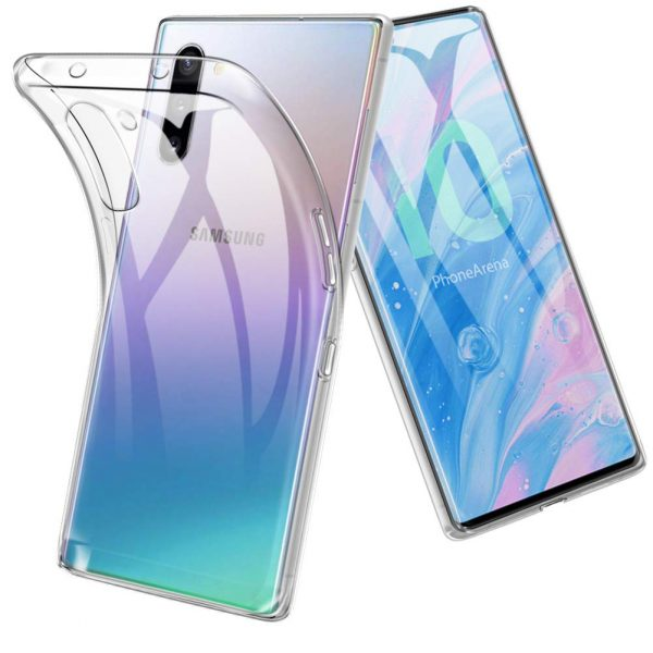 Bakeey Clear Soft TPU Protective Case For Samsung Galaxy Note 10/Note 10 5G