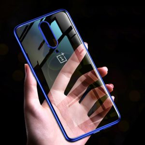 Bakeey Shockproof Plating Hard PC Protective Case for OnePlus 7