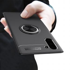Bakeey Protective Case For Samsung Galaxy Note 10/Note 10 5G 360 Rotating Ring Grip Bracket Back Cover