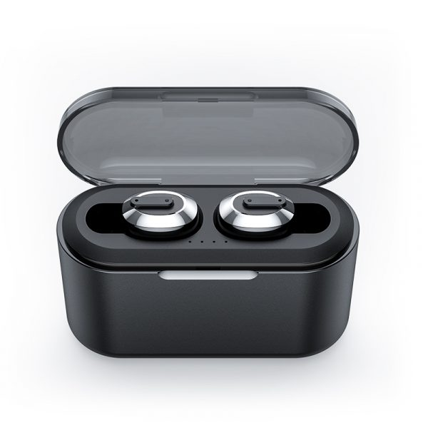 Bakeey T2 TWS Wireless bluetooth 5.0 Earphone Mini Portable 6D Stereo Auto Pairing Headphone with 2200mAh Charging Box