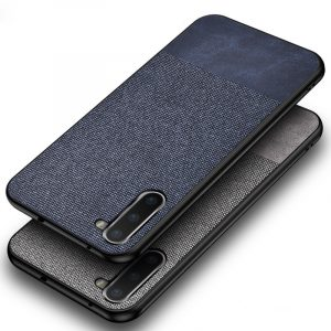 Bakeey Cotton Cloth Protective Case For Samsung Galaxy Note 10/Note 10 5G/Note 10+/Note 10+ 5G Anti Fingerprint Back Cover