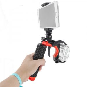 Shutter Trigger Diving Buoyancy Selfie Stick Mobile Phone Holder Handheld Stabilizer for GoPro Camera