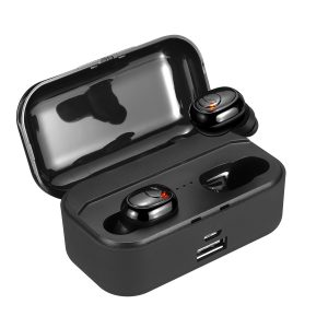 Mini bluetooth 5.0 Earbuds Light Display TWS Wireless Stereo Earphone Auto Pairing HiFi Waterproof With Power Bank