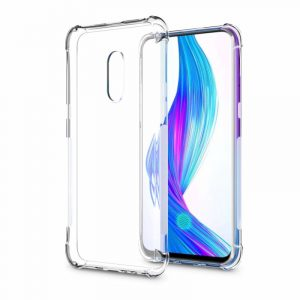 Bakeey Air Cushion Corner Shockproof Transparent Soft TPU Back Cover Protective Case for OPPO realme X