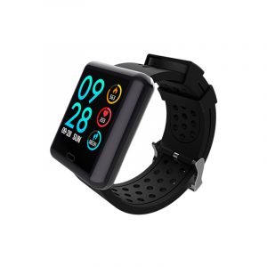 Bakeey M9 Full Touch Screen Heart Rate Blood Pressure O2 Monitor bluetooth Music Smart Watch