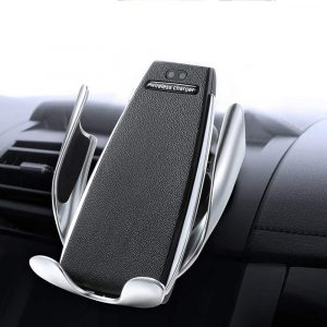 Bakeey 10W Infrared Sensor Automatic Clamping Fast Charging Phone Holder Wireless Charger For iPhone X XS HUAWEI P30 Mate20 Pro Oneplus 7 XIAOMI MI9 S10 S10+ Nut R1