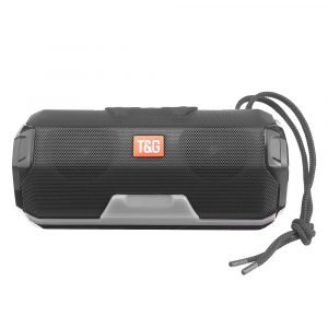 Portable bluetooth Wireless Speaker Dual Drivers FM Radio TF Card Stereo Bass LED Light Subwoofer with Mic