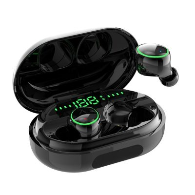 Bakeey C5S TWS bluetooth 5.0 Earphone Wireless Earbuds 3500mAh Power Bank Smart Touch IPX8 Waterproof Headphone with Mic