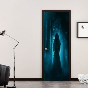 Miico MT005 Halloween Sticker Door Sticker Removable Wall Sticker Room Decoration