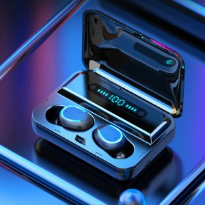 TWS Dual Digital Power Display bluetooth 5.0 Wireless Stereo Earphone Auto Pair Sport Headset for Cell Phone