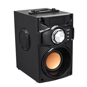Wireless bluetooth Speaker Portable Music Player Heavy bass Stereo Surround Sound FM TF AUX USB Remote Controller