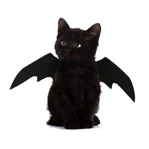 Halloween Pet Dog Cat Bat Wings Costume Black Pet Puppy Cat Clothing Pet T-shirt