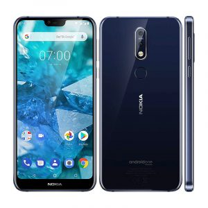 Nokia 7.1 Global Version 5.84 inch FHD+ Android 10 NFC 3060mAh 4GB RAM 64GB ROM Snapdragon 636 Octa Core 4G SmartPhone