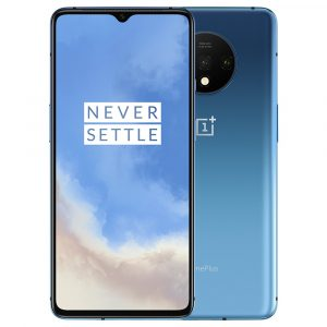 OnePlus 7T Global Rom 6.55 inch 90Hz Fluid AMOLED Display HDR10+ Android 10 NFC 3800mAh 48MP Triple Rear Cameras 8GB RAM 128GB ROM UFS 3.0 Snapdragon 855 Plus Octa Core 2.96GHz 4G Smartphone
