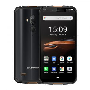 Ulefone Armor 5S IP68 IP69K Waterproof 5.85 inch 4GB 64GB NFC 5000mAh Wireless Charge MT6763 Octa Core 4G Smartphone