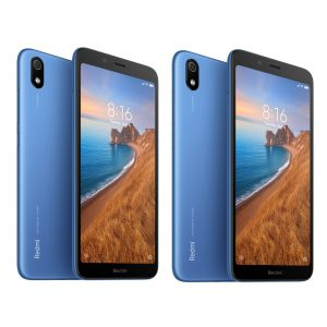 2Pcs Xiaomi Redmi 7A Global Version 5.45 inch Face Unlock 4000mAh 2GB 16GB Snapdragon 439 Octa core 4G Smartphone Blue