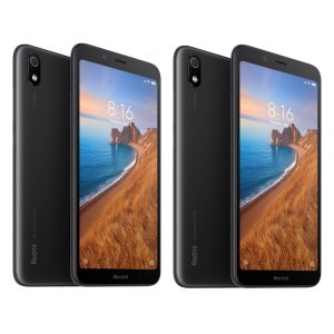 2Pcs Xiaomi Redmi 7A Global Version 5.45 inch Face Unlock 4000mAh 2GB 16GB Snapdragon 439 Octa core 4G Smartphone Black