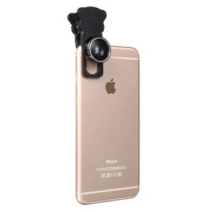 5 In 1 Fisheye Wide Angle Marco Telephoto Lens CPL Lens For Mobile Phone