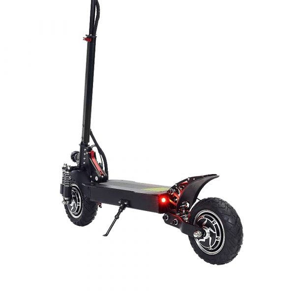 LANGFEITE L8S 2019 Version 20.8Ah 48.1V 800W*2 Dual Motor Folding Electric Scooter Color Display DC Brushless Motor 45km/h Top Speed 55km Range EU Plug