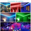 12V-LED-Light-Strip-5M/10M/15M-16.4ft/32.8ft/49.2ft-5050-RGB-LED-Tape-Lights-RGB-Rope-Lights-16-Milions-Colors-Flexible-Changing-LED-Strip-Lights-with-Remote-for-TV-Bedroom-Party-Home-Lighting-Kitchen-Bar