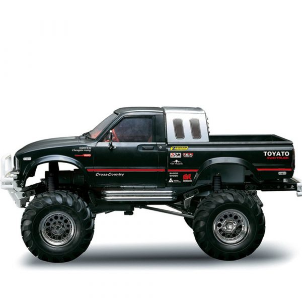 HG P407 1/10 2.4G 4WD RC Car for TOYATO Metal 4X4 Pickup Truck Rock Crawler RTR Toy