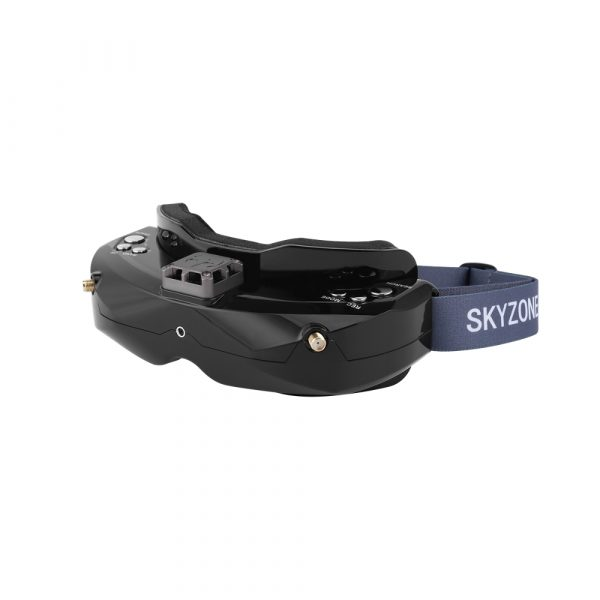 SKYZONE SKY02X 5.8Ghz 48CH Diversity FPV Goggles With Head Tracker Front Camera Fan 2D/3D HDMI For RC Drone