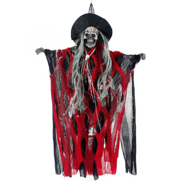 Halloween Party Home Decoration Electric Voice Caption Small Hat Horrid Scare Scene Toys Props