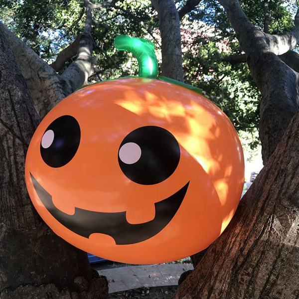 50cm Halloween Durable PVC Inflatable Ghost/Pumpkin/Spider Decor Inflator Gift