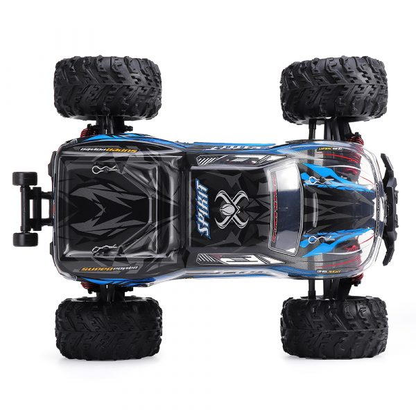 Xinlehong Q901 1/16 2.4G 4WD 52km/h Brushless Proportional control Rc Car with LED Light RTR Toys