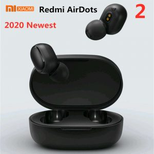 Original Xiaomi Redmi Airdots 2 TWS Earphone Wireless bluetooth 5.0 Earphone Stereo Noise Reduction Mic Voice Control Sport Earbuds Headphone